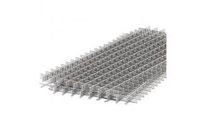 Сетка кладочная черная 50х50х3,5 мм (1х2)